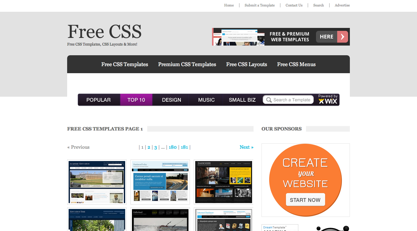 Free CSS  2722 Free Website Templates CSS Templates and