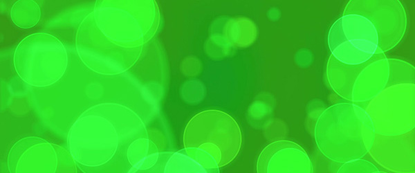 Green Bokeh