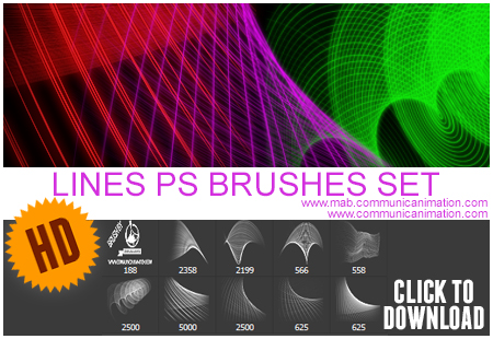 Lines Brushes HD