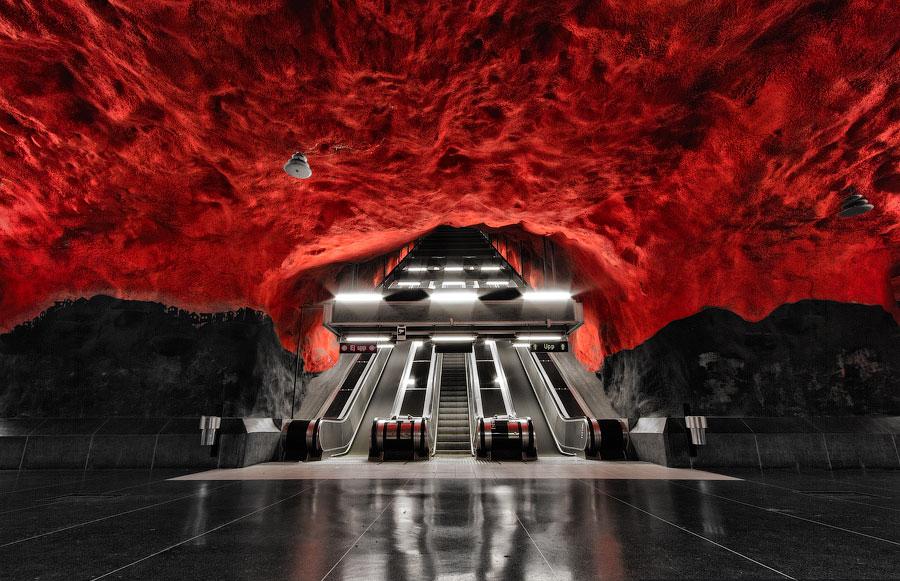Solna Centrum Metro