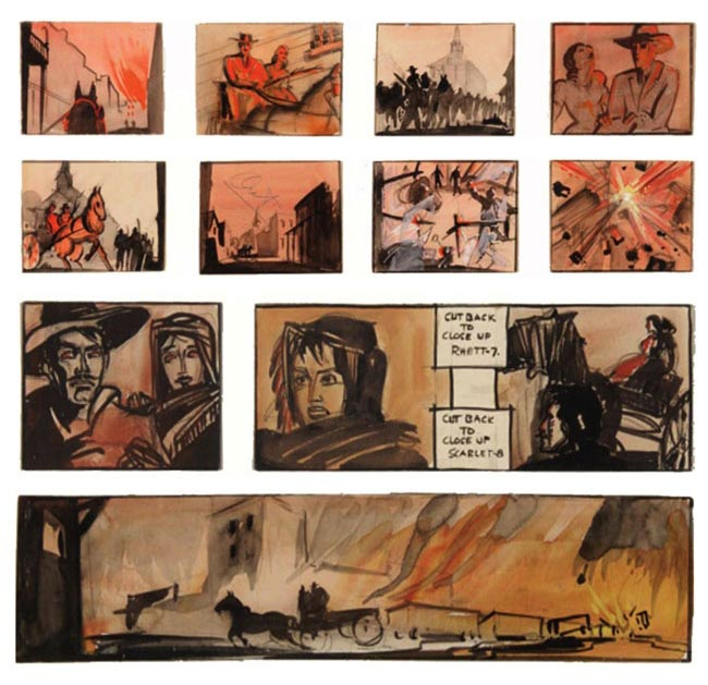 via-col-vento-storyboard-william-cameron-menzies-1