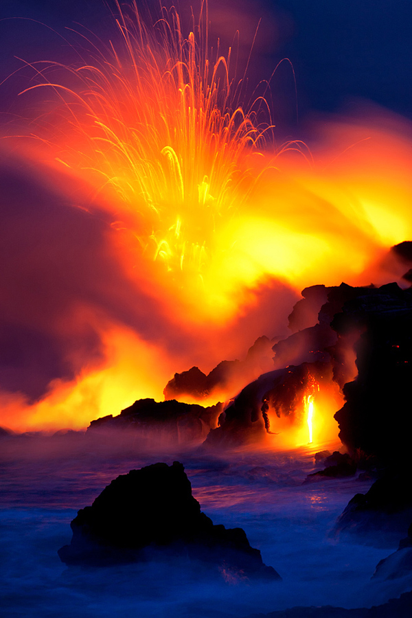 Lava 3 by Bruce Omori