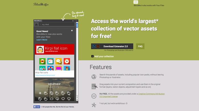 BlendMe.In-web-design