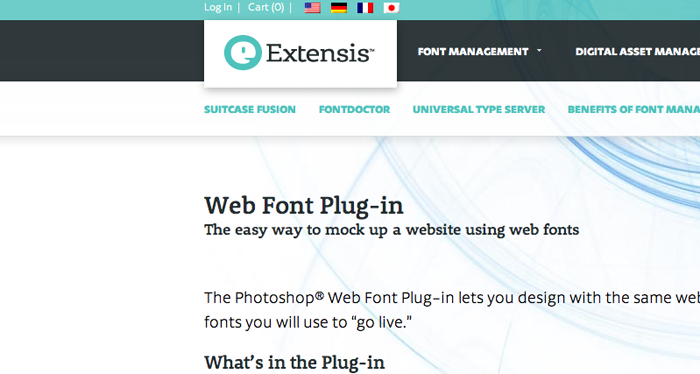 web-font-plug-in