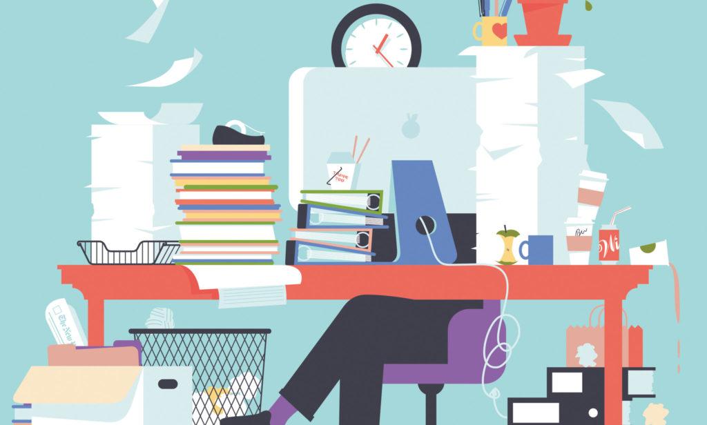 Disordine In Ufficio.Disordine E Creativita Avere Una Scrivania Disordinata