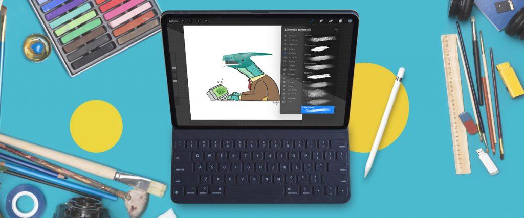 App per disegnare: Procreate è la mia scelta.